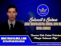 Ketua DPD GNI Kota Medan Terpilih Tahun 2020
