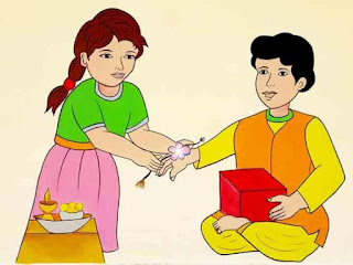 raksh bandhan drawing