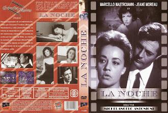 Carátula dvd: La noche (1961) (La notte)