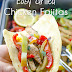 EASY GRILLED CHICKEN FAJITAS RECIPE