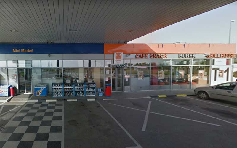 Eko Petrol Zednik (Macaristan Yönü)