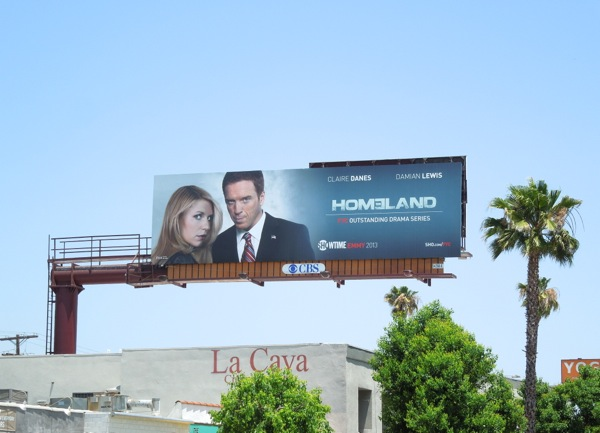 Homeland 2 Emmy Consideration billboard