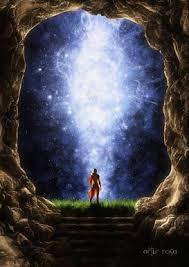 Et se déploie dans le cœur l'éclatant Rayonnement de l'arc-en-ciel, dorant toute la science de L'Amour, en L'Amour pour L'Amour de La Lumière. Lumière qui darde de Ses Rayons Sacrés, toute la clarté de la conscience de celui qui contemple pour la nourriture qui vient Du Ciel.