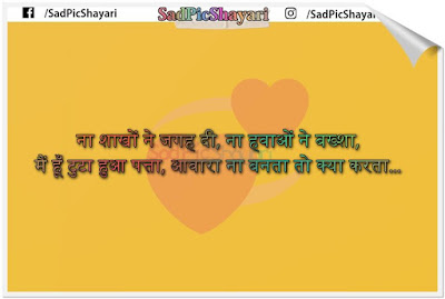 zindagi 2 line shayari in hindi