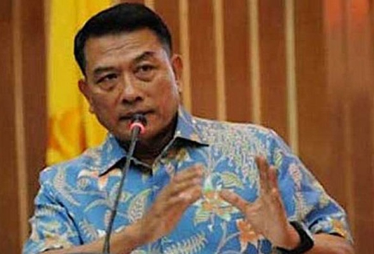 Moeldoko: Presiden Jokowi Restui Operasi Gabungan Antiteror TNI