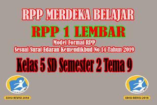 RPP Merdeka Belajar SD Kelas 5 Semester 2
