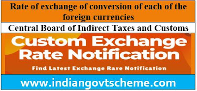 Rate of exchange of conversion of each of the foreign currencies