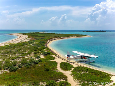 photo of Dry Tortugas National park and seaplane