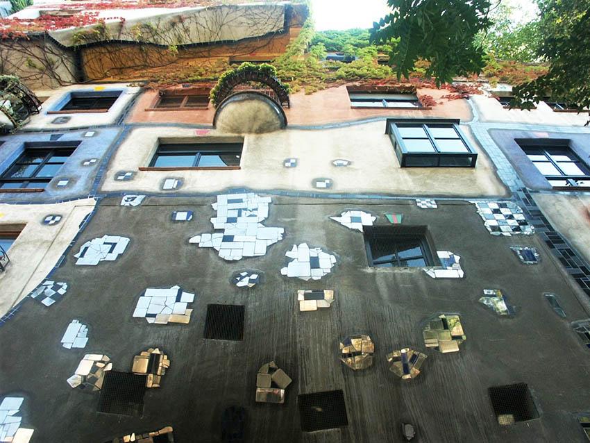 Arte, colore, architettura, design, ambiente in  Hundertwasser