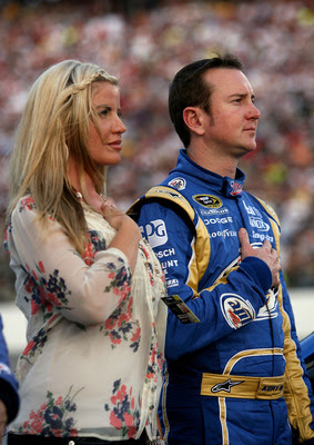 kurt busch | with wife | all about sports