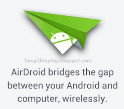 Cara Menghubungkan Perangkat Android Ke Laptop/PC Tanpa Kabel - AirDroid