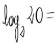 Cálculo de un logaritmo por la fórmula de cambio de base 6