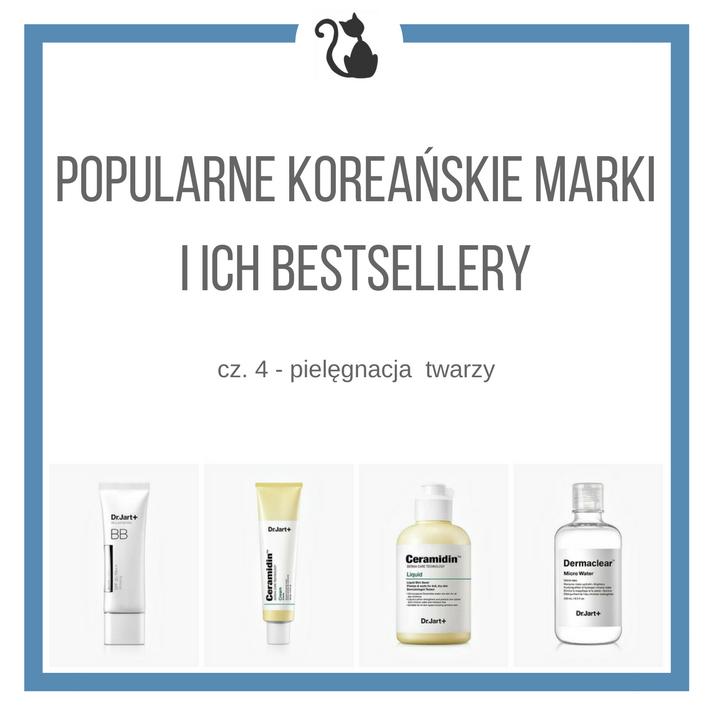 Popularne koreańskie marki i ich bestsellery, cz. 4 - pielęgnacja twarzy