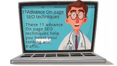 11 Advance On page SEO  techniques you should know in 2020