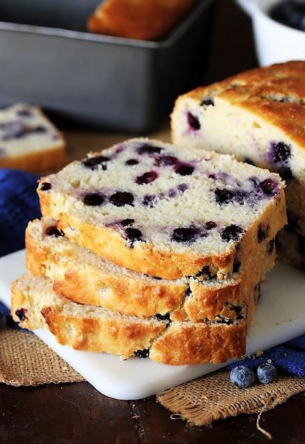 Buttermilk Blueberry Bread Image