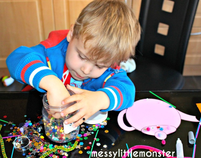 teapot craft for kids