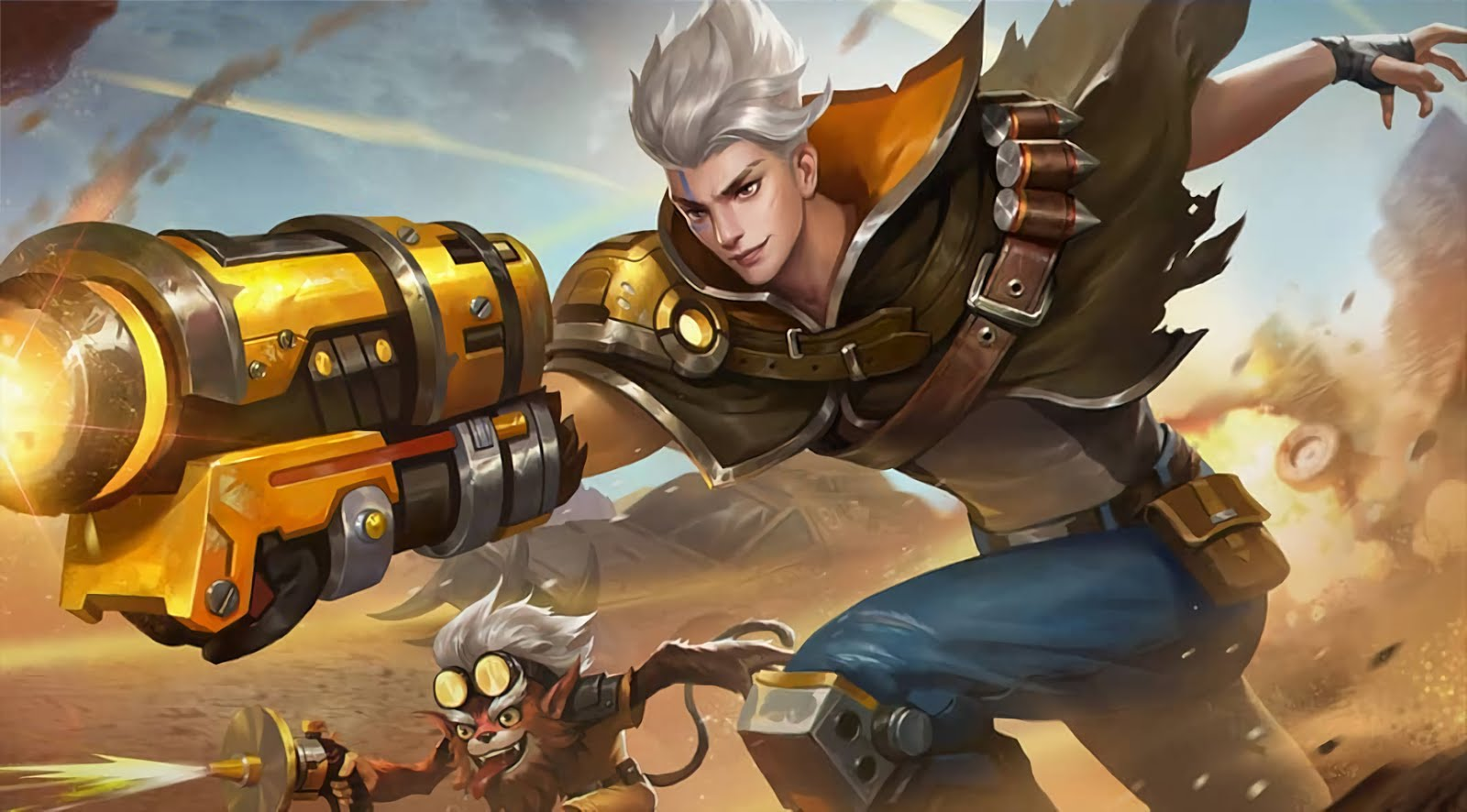 Wallpaper Mobile Legend Hero Claude