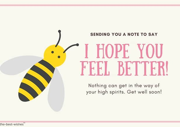 get well soon messages and images