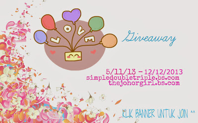 Love Giveaway By JohorGirl And Hana