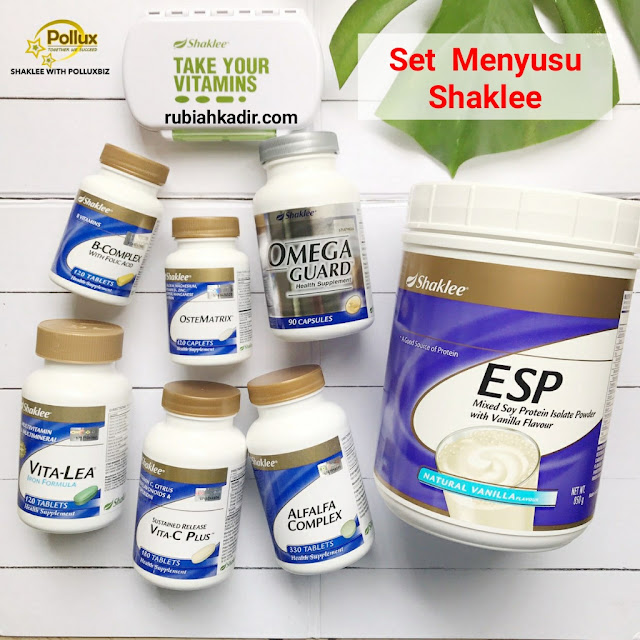 Set Menyusu Shaklee