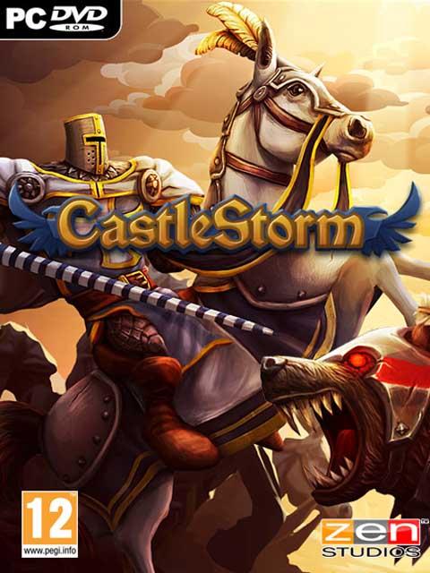 تحميل لعبة CastleStorm مضغوطة برابط واحد مباشر كاملة مجانا