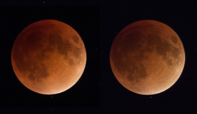 super blood moon photo