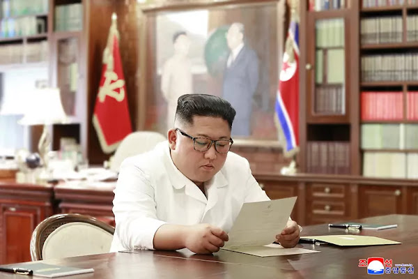 Kim Jong Un receives personal letter from US president Trump, June 2019