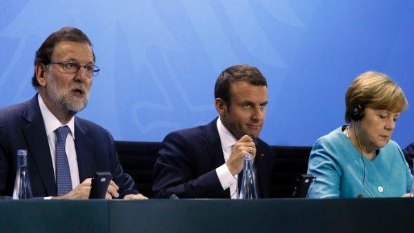 Mandatarios europeos se unen en lucha contra el terrorismo