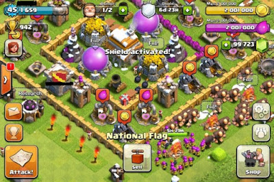 Clash of Clans hack New Update Get Free Gems, Exilirs