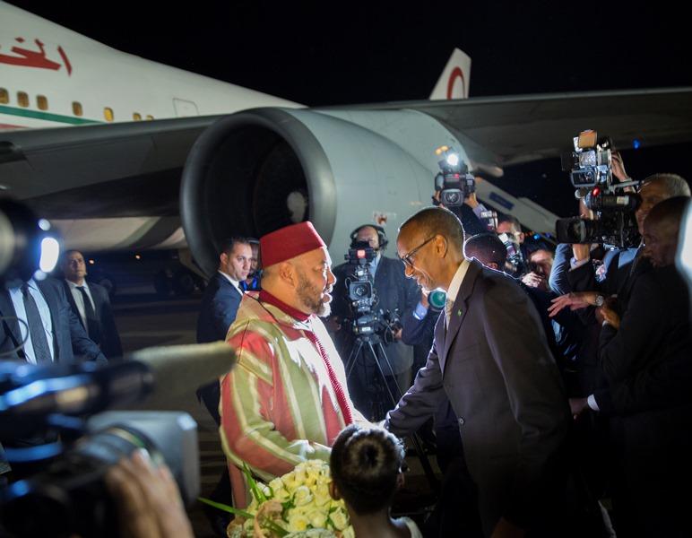 Mohammed VI a débuté une tournée Africaine en commencant par le Rwanda