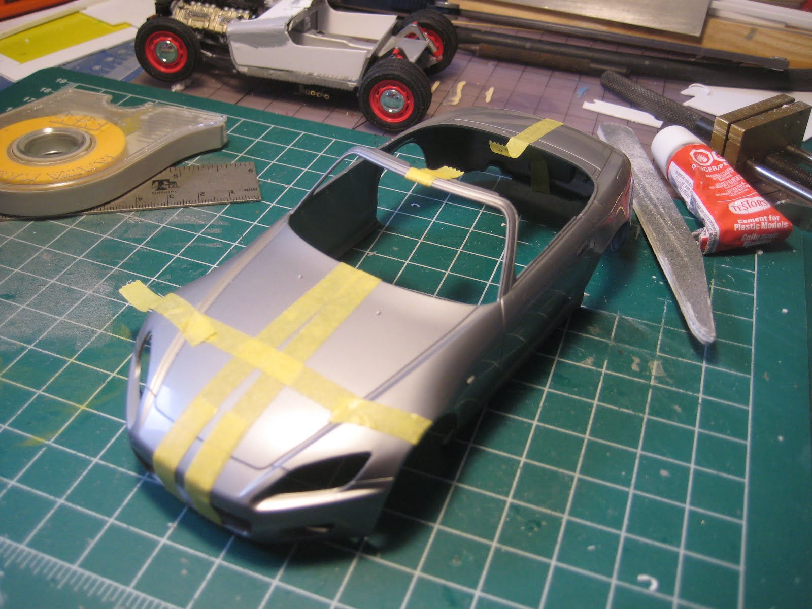 medium resolution of so the roadster started off with the s600 dashboard supported by a bit of brass tube