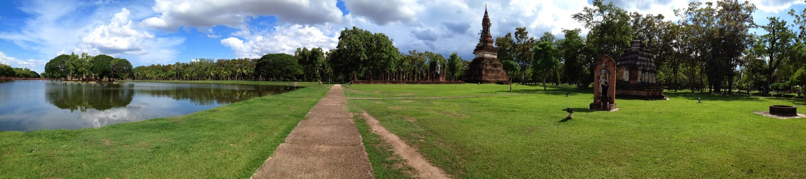 Old Sukhothai - View from Wat Tra Kuan