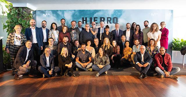Presentación del rodaje de la 2ª temporada de 'Hierro' de Movistar+
