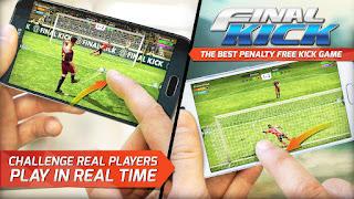Final Kick : Online Football MOD v4.0 Apk (Unlimited Gold + Coins) Terbaru 2016 1
