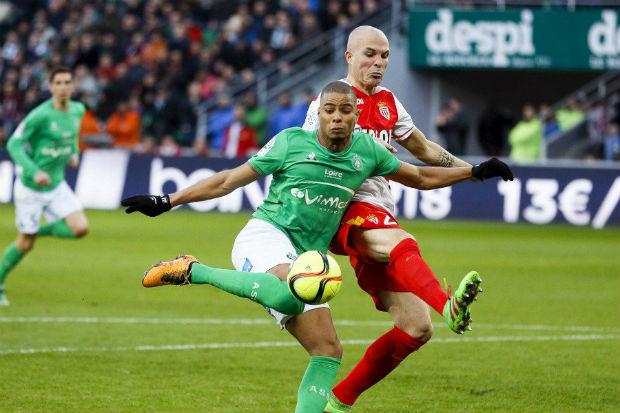 Saint-Etienne et Monaco se quittent sur un match nul 1-1 lors de cette 26e journée de Ligue 1