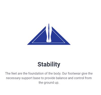 Footlink Kasut Kesihatan Memelihara Kesihatan Kaki Optimum