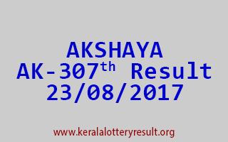AKSHAYA Lottery AK 307 Results 23-8-2017