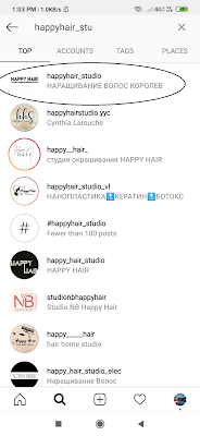 filter instagram rambut