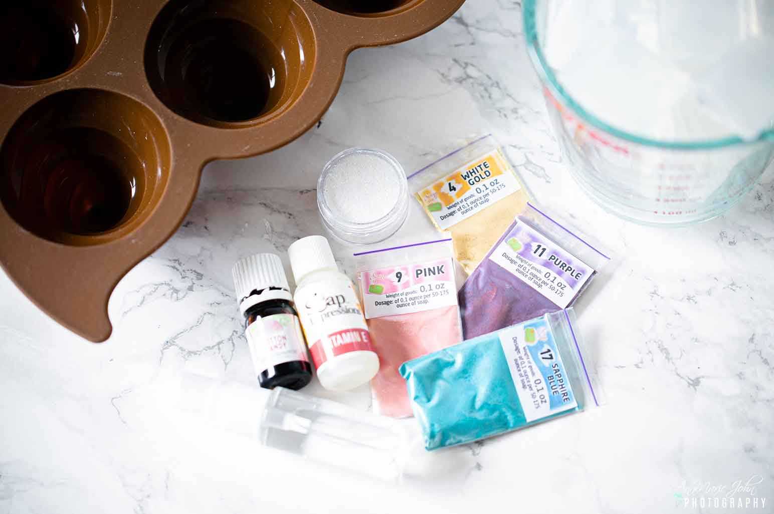DIY Unicorn Poop Soap