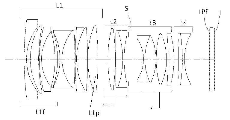 Оптическая схема Sigma 35mm f/1.2