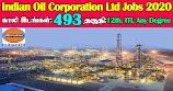IOCL Recruitment 2020 493 Trade Apprentices Posts
