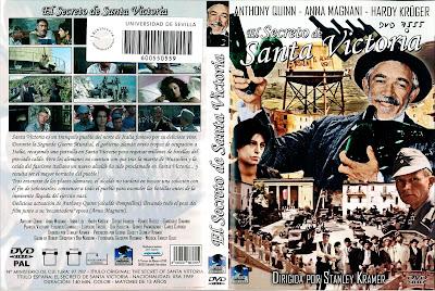 Carátula dvd: El secreto de Santa Victoria