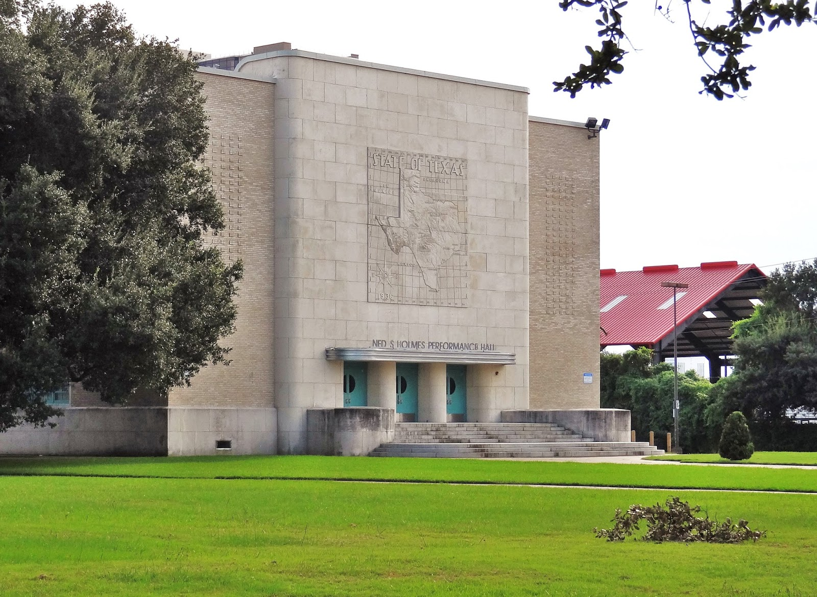 Houston Art Deco Ned S Holmes Performance Hall At Lamer