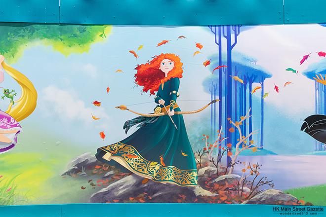 「奇妙夢想城堡」圍板,迪士尼公主與女英雄主題裝飾煥然一新 - Hong Kong Main Street Gazette丨大街小報 - HKMSG