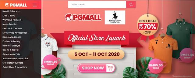 Lebih Jimat Beli di PGMall, Promosi 10.10 Double Digit Sales & Kempen Beli Barangan Malaysia