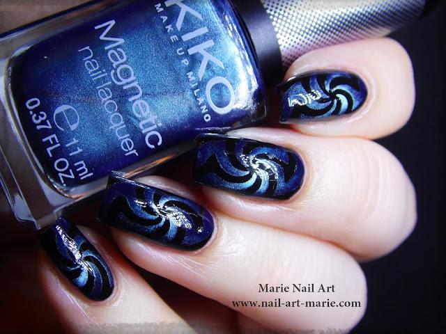 Nail Art Magnétique Hypnotisant4