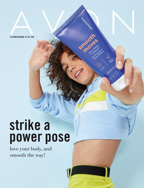 Strike A Power Pose Avon Digital Campaign 11 & 12 2020