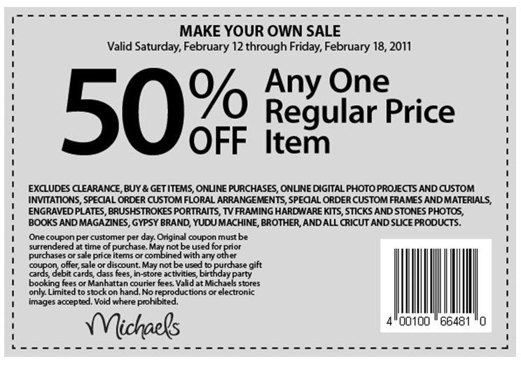 michaels calgary printable coupons