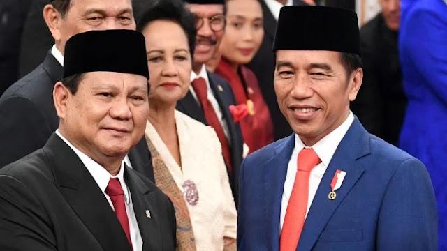 Ternyata! Pada 2014 Akun Ini Tulis Jokowi Presiden Prabowo Menhan