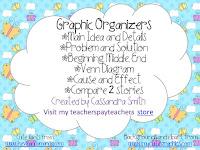 https://www.teacherspayteachers.com/Product/Graphic-Organizers-756215